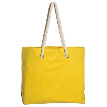 2398f9c236b Strandtas capri (geel) bedrukken | Topgiving.nl