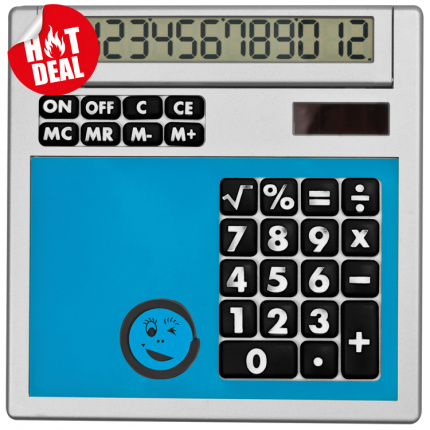 Calculator own design met inlegplaatje - Topgiving