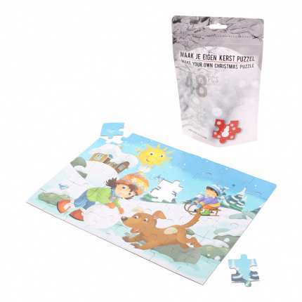 Winter children's puzzle - Premiumgids